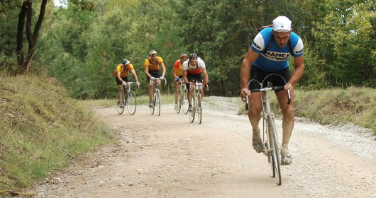 """""""L' Eroica"""", a jump into the old cycling"""