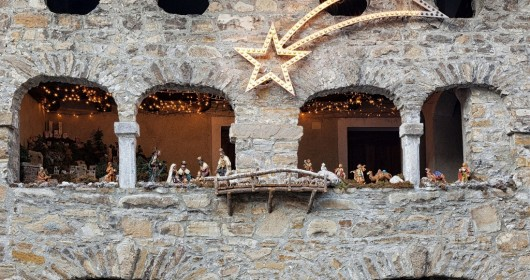 Christmas atmosphere in Friuli