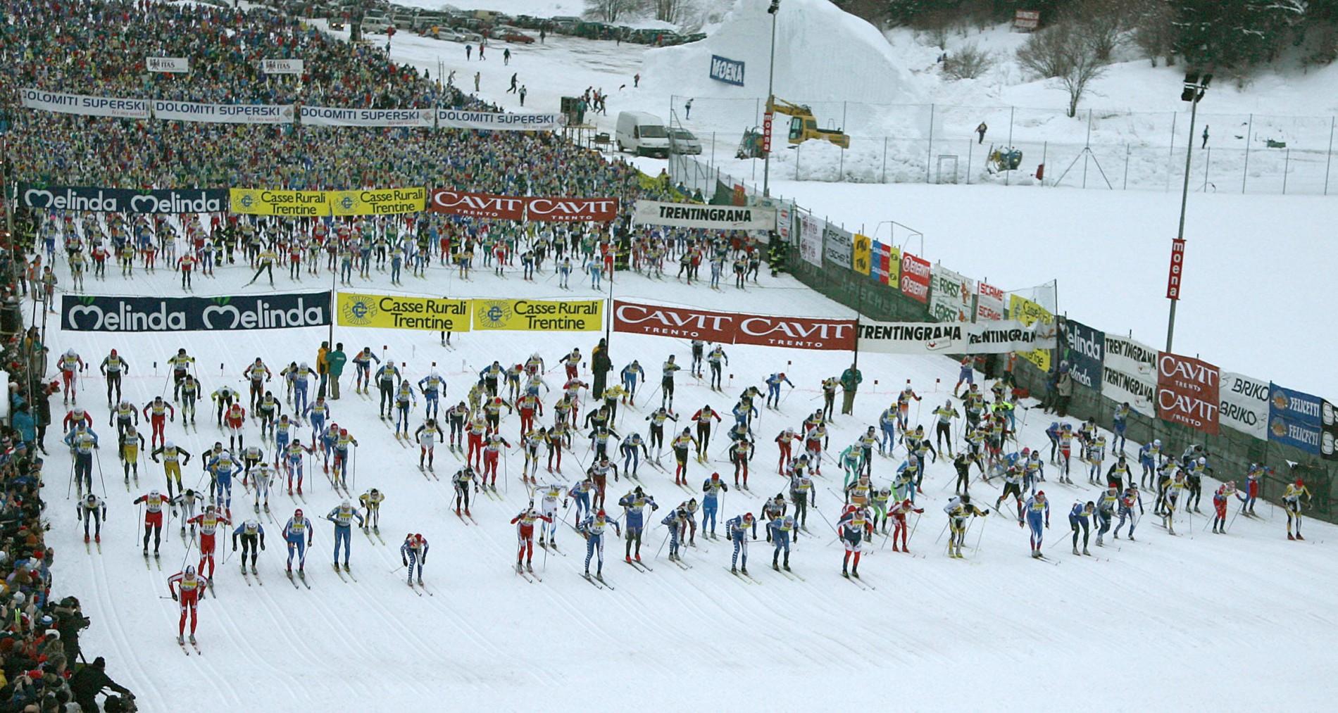 Marcialonga: the snow marathon