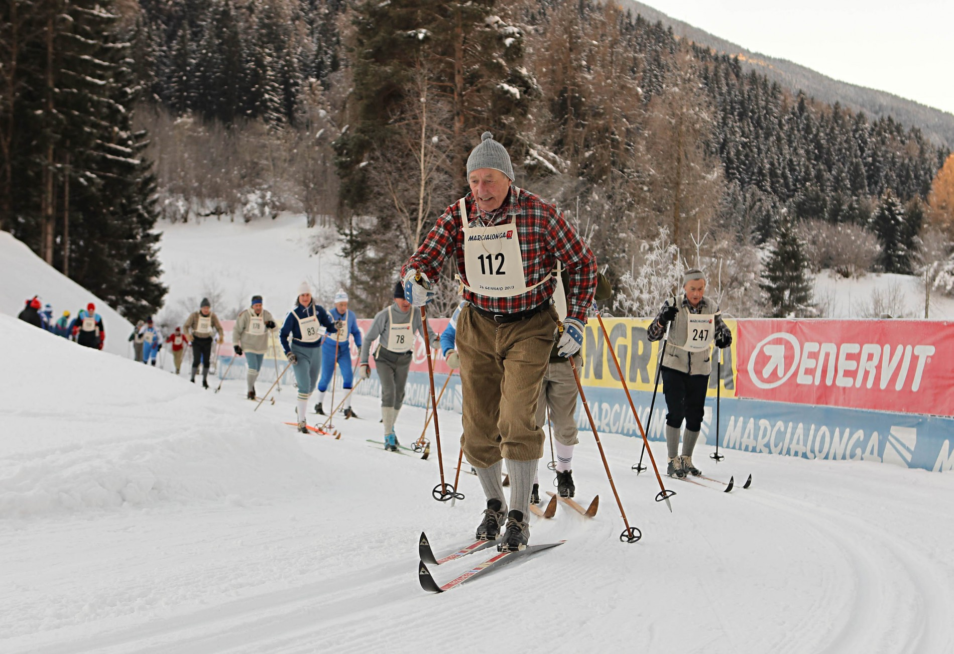The Trentino's event is one of the most important worldwide cross-country skiing