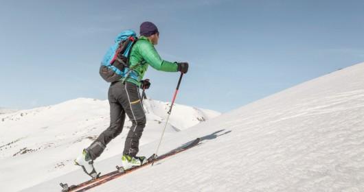 Ski mountaineering, free but safe