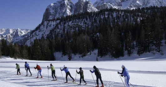 Skiing at Easter? On Cortina's Dolomites