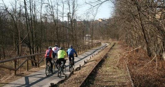 A cycle path from Bologna to Verona