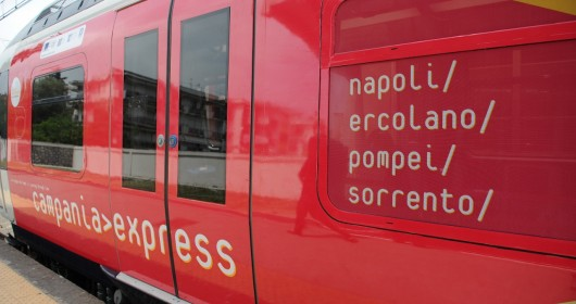 Campania Express, Sorrento on a bike