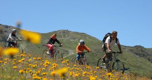 Val D'Aosta, summer sport in Pila