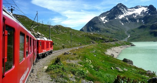 The Bernina Red Express