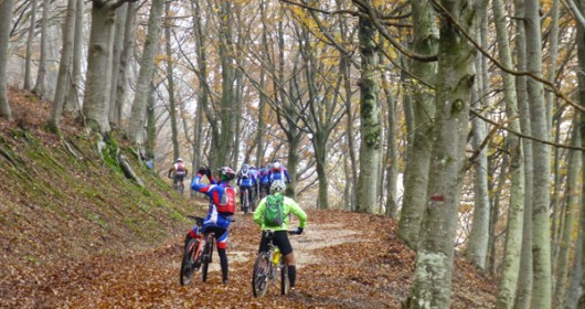 Frasassi MTB Tour, a time travel