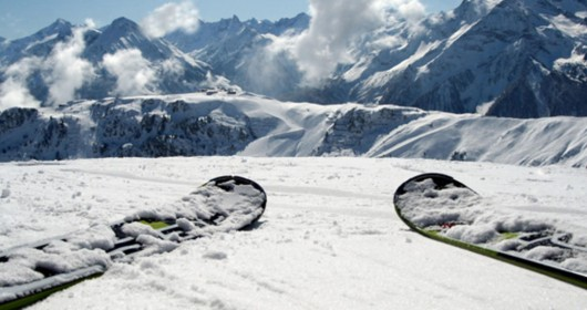 Italy, a country of skiers