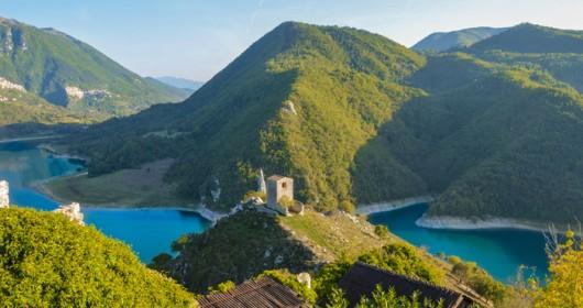 """Route of St.Benedict: """"Ora et...walking"""""""