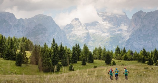Paganella Dolomites Bike: the MTB's infinite spectacle