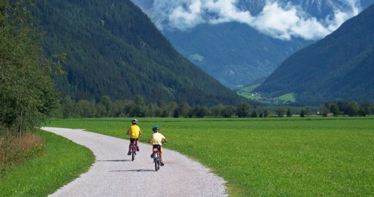 The Val Pusteria cycle path