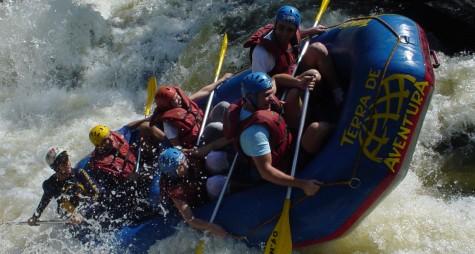 Rafting, l'indomito Adda