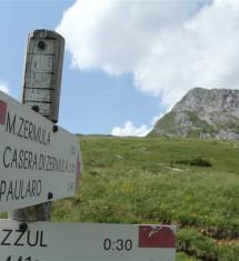 I due sentieri del Cai sul Monte Zermula