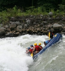 Rafting in Valtellina