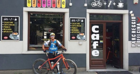 Pausa caffè? In bici è il massimo...