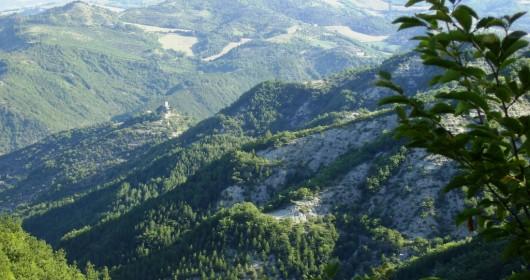 Pellegrini nell' Alta valle del Bidente