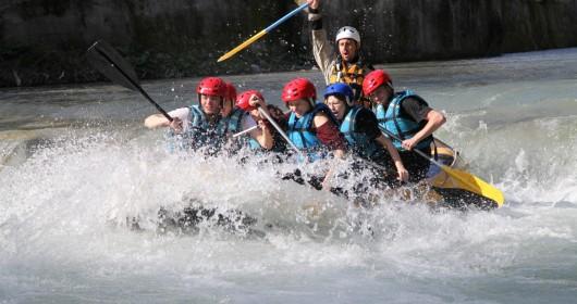 Adrenalina sul fiume Lao
