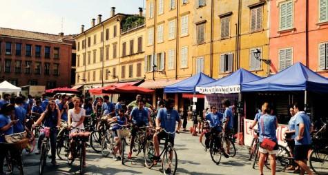 A Modena l'invasione delle bici