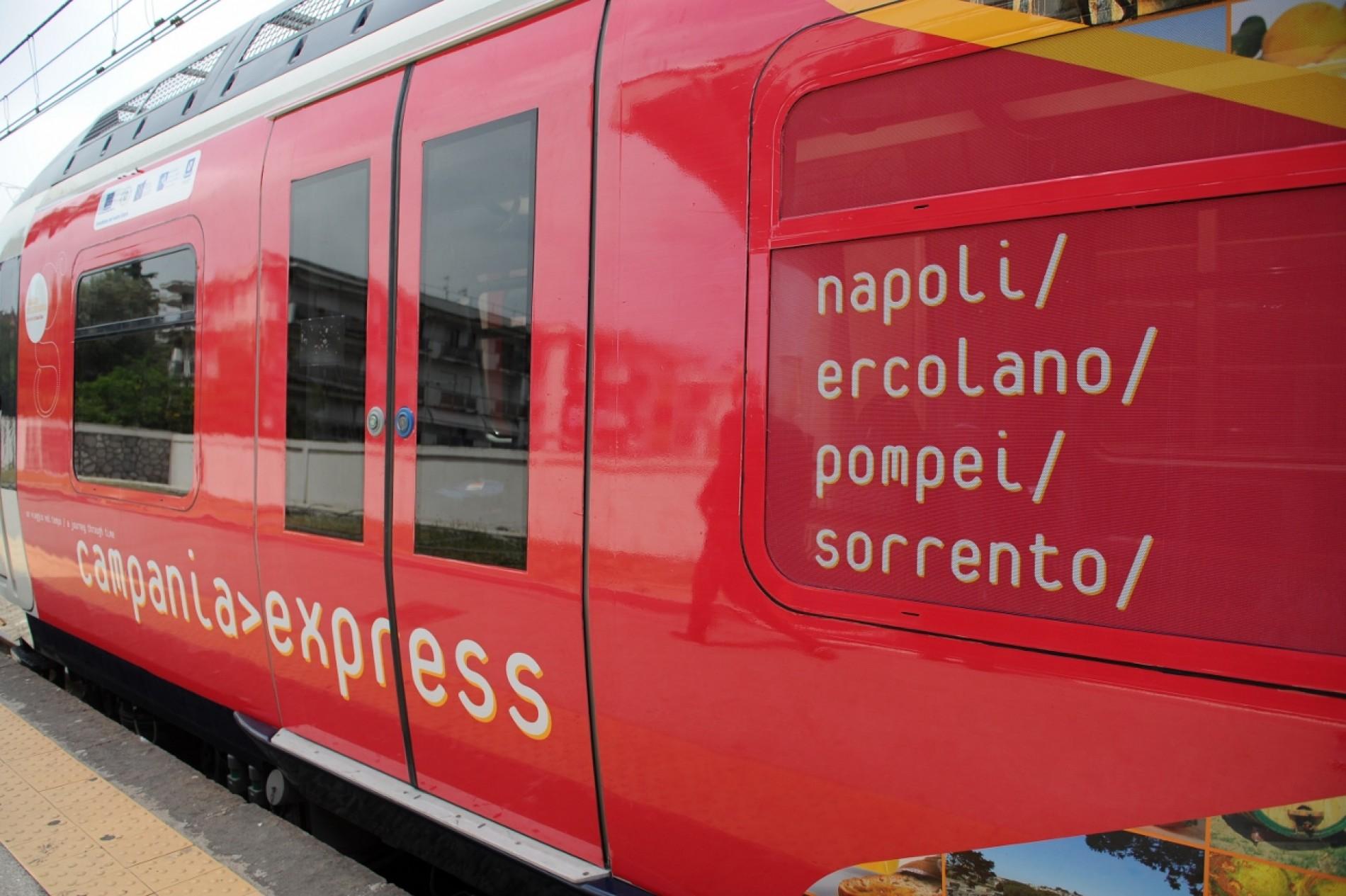 Campania Express, Sorrento sui pedali
