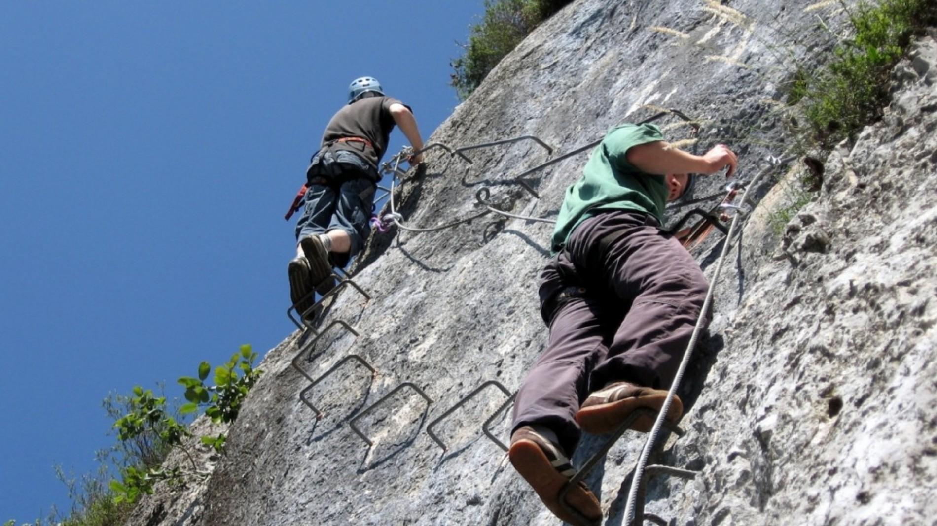 """""""Dolomiti Rock"""", la ferrata lucana"""