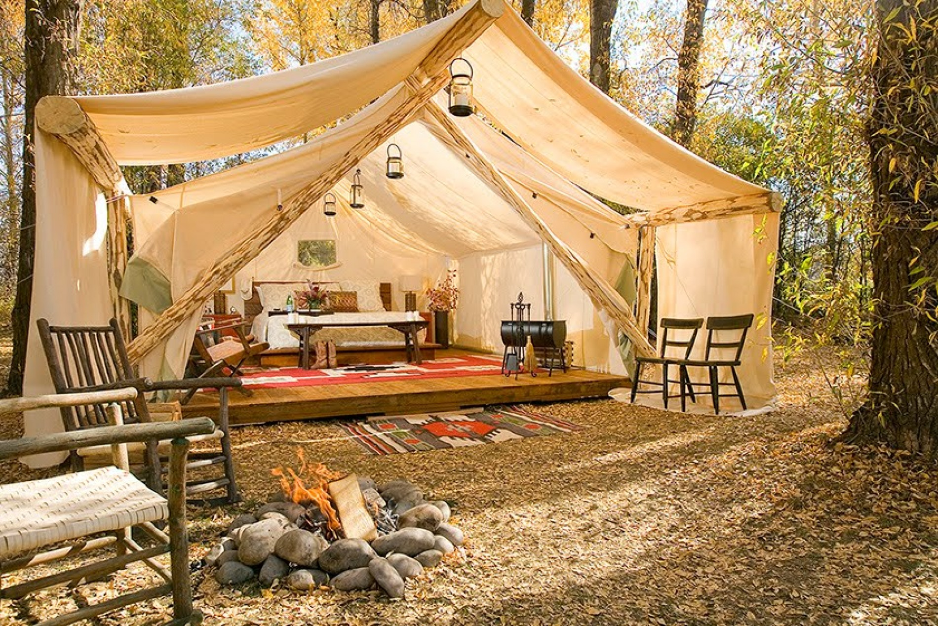 Glamping: l'outdoor diventa glamour