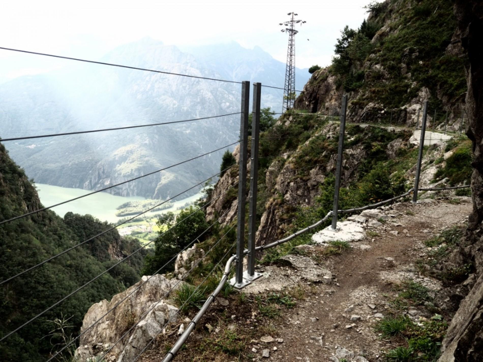 Il sentiero Tracciolino