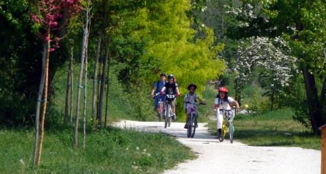 In bici nel Parco fluviale Gesso e Stura