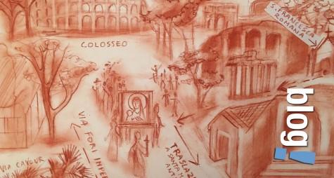 Trekking d'arte a Roma: da Piazza Venezia a Costantinopoli
